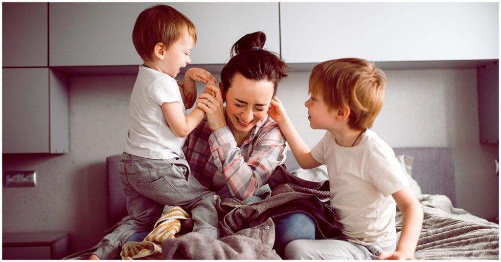 He decidido desprenderme de todas esas culpas que me han dado sólo por ser madre