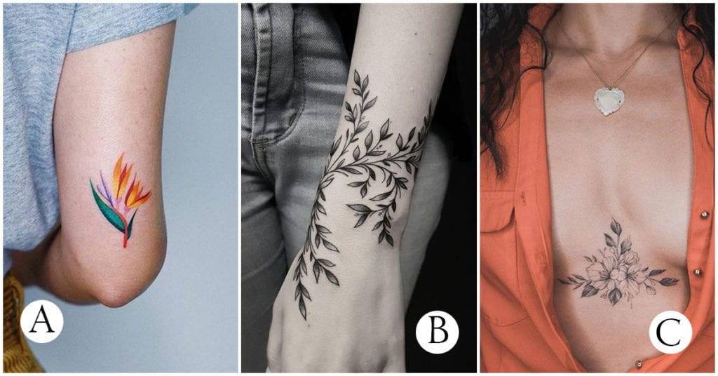 Tatuajes ideales para chicas que aman el nature