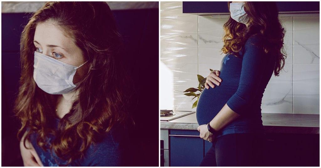 Estar embarazada durante la pandemia