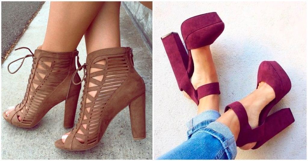 Zapatos de tacón ancho que debes tener sí o sí