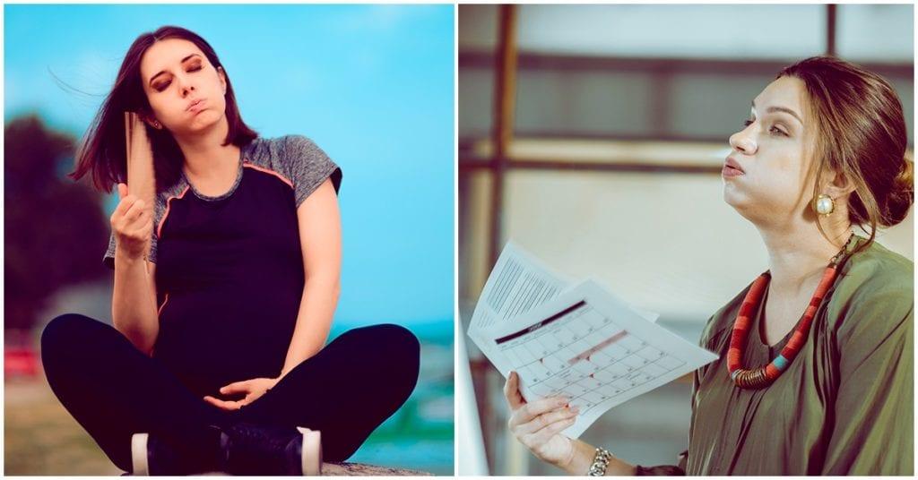 Cómo lidiar con los bochornos del embarazo