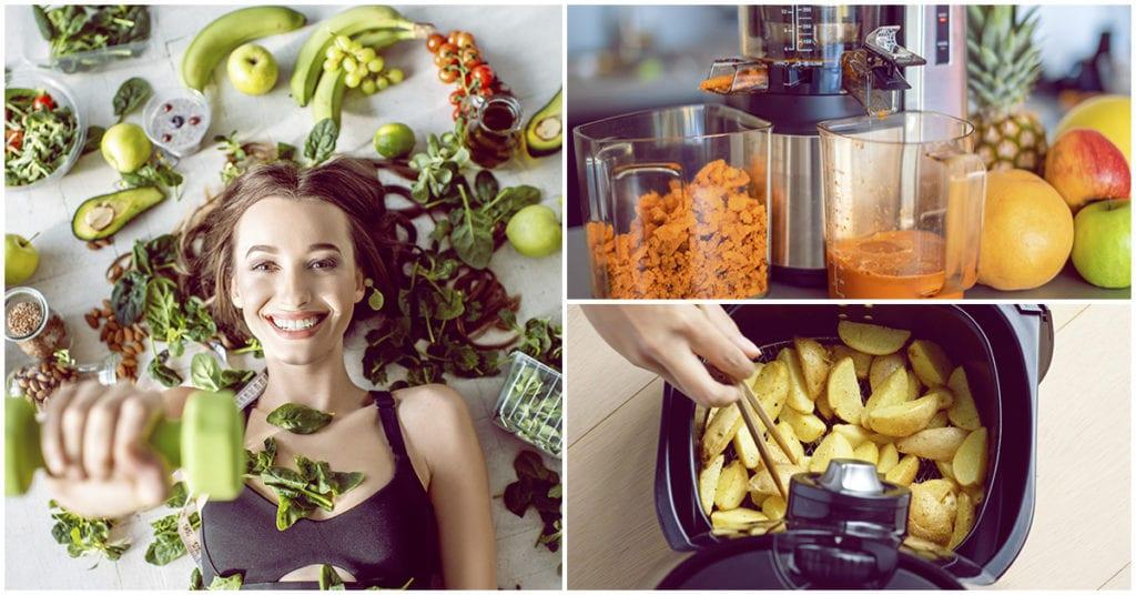 Formas de comer más saludable estando en casa