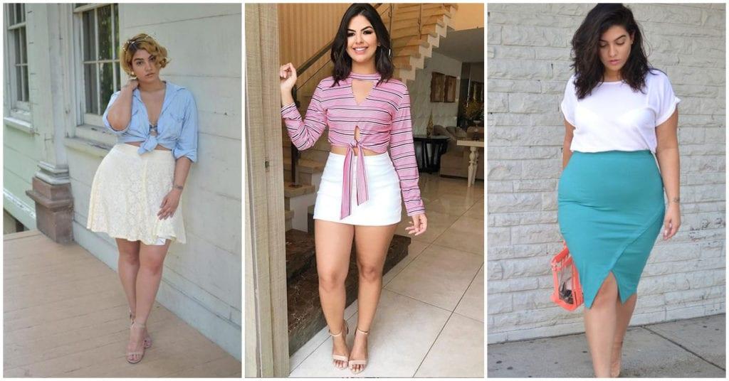 Faldas preciosas para chicas con cadera ancha