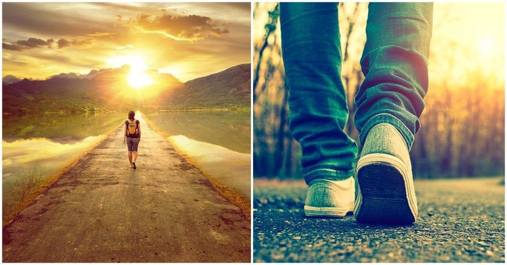 Cuando encuentres tu camino, sólo síguelo y no mires hacia atrás