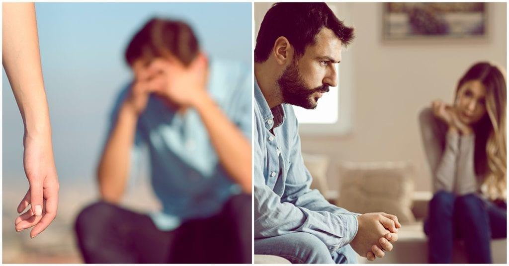 Él no sufre por tu culpa, sufre porque siempre ha sido infeliz