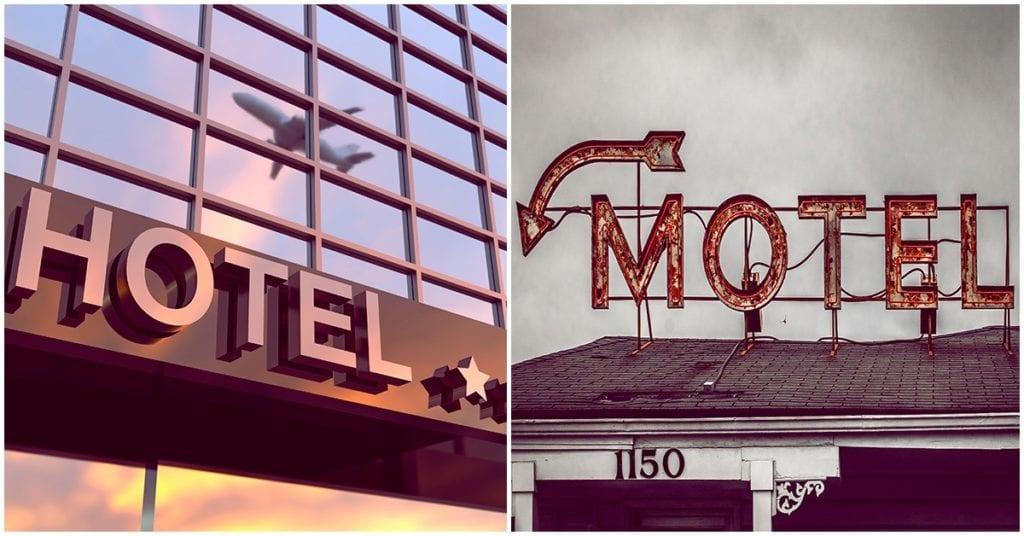 Hotel y motel: ¿qué son, son diferentes? Resuelve todas esas dudas que tienes, pero no te atreves a preguntar