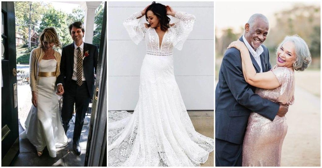 El vestido blanco perfecto para tu segundo matrimonio