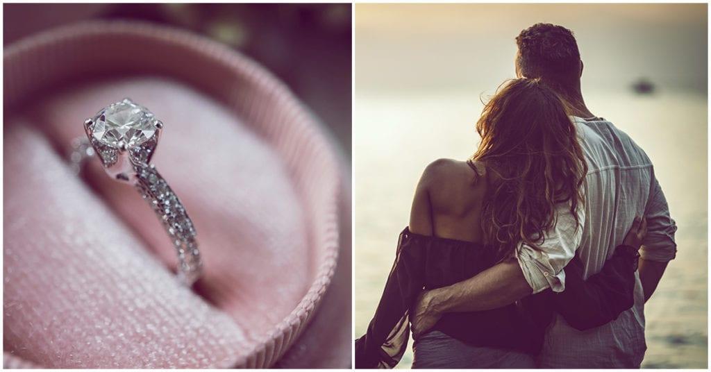 Aceptar el anillo de compromiso fue una ráfaga de emoción, amor, inseguridad… todo en uno