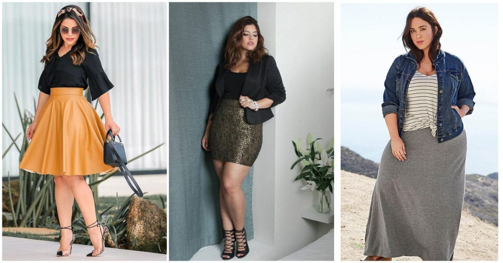 Curvy: Cómo escoger la falda perfecta de acuerdo a la ocasión