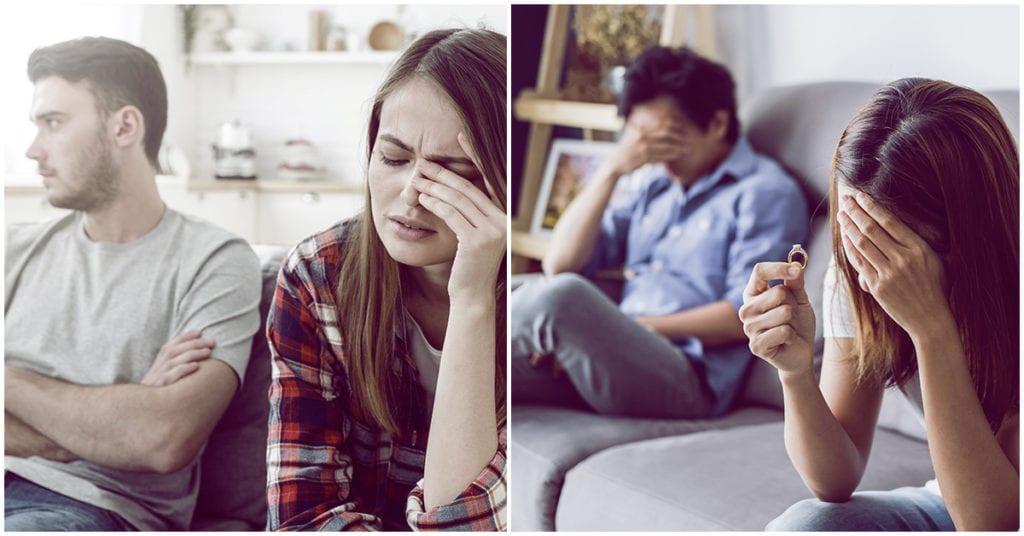 Las personas con estos rasgos de personalidad suelen acabar divorciadas