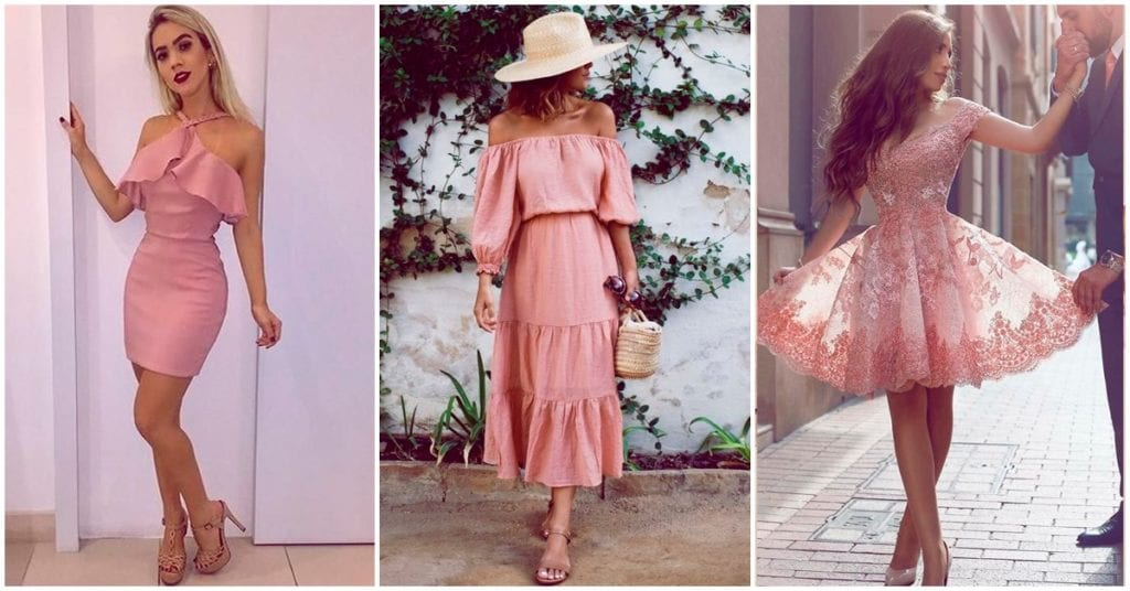 Vestidos rosas que cualquier chica debería tener
