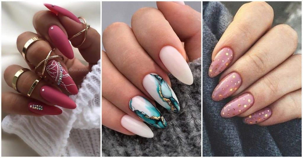Diseños bonitos para las amantes de las uñas largas