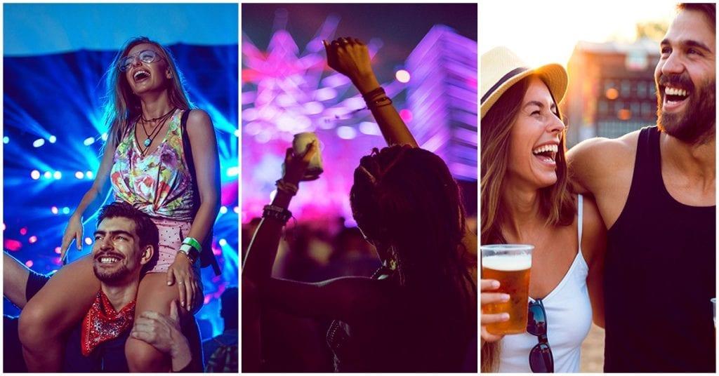 Tipos de personas que encuentras en un concierto, ¿cuál eres tú?