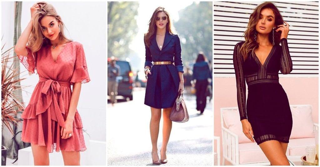 Tipos de vestidos que te quitan kilos de encima