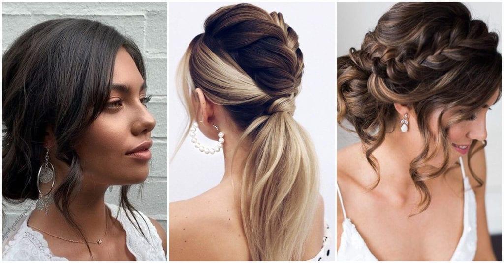 Peinados originales para las novias 2020-21