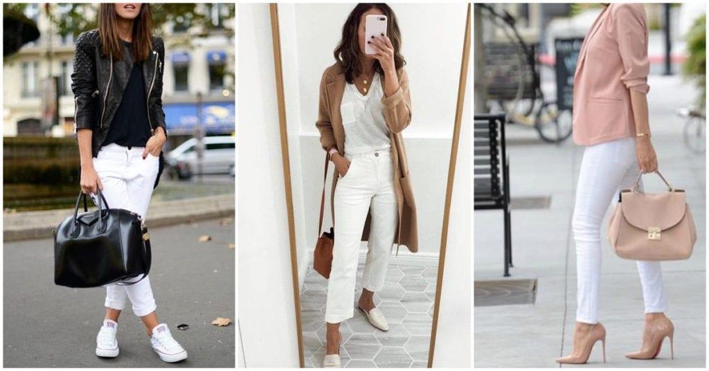 Pantalones blancos, los mejores para lucir más curvilínea