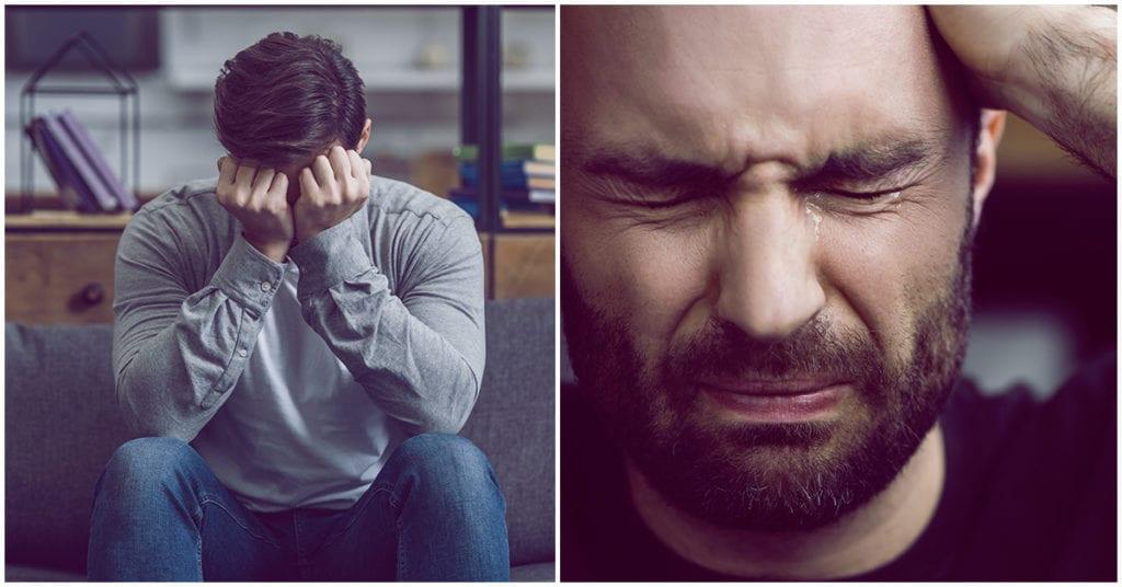 ¿Te causa conflicto ver a un hombre llorar?