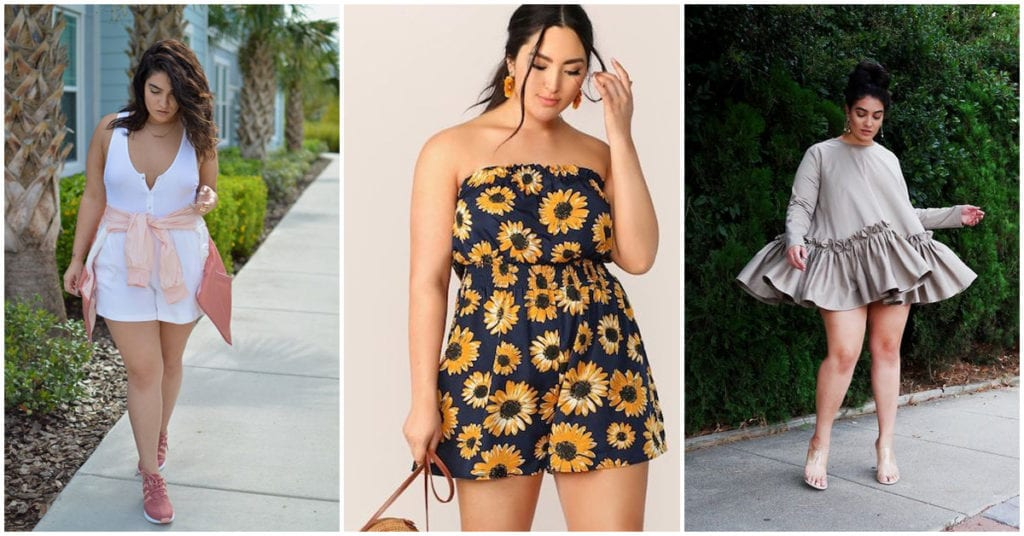 Outfits casuales y lindos para chicas curvy