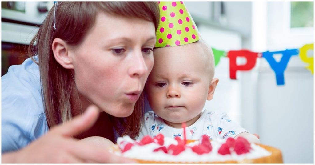 ¿Festejar o no el primer año de tu hijo?