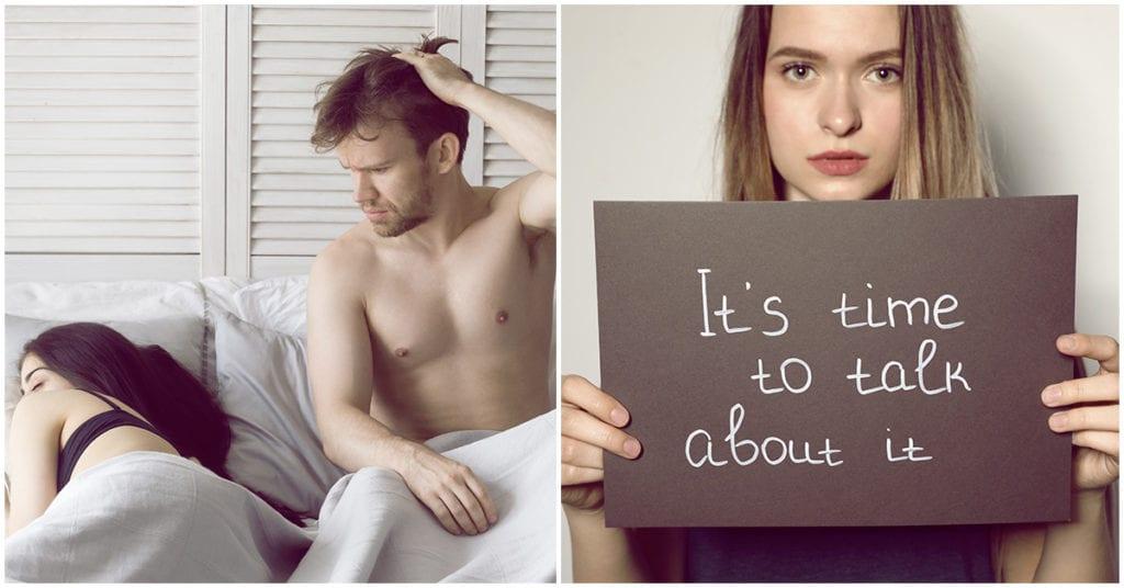 Qué hacer si te sientes sexualmente frustrada en tu relación