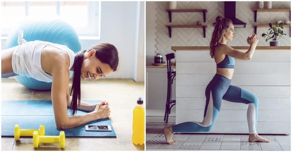Rutina de ejercicios sencillos para esos días sin tiempo para entrenar