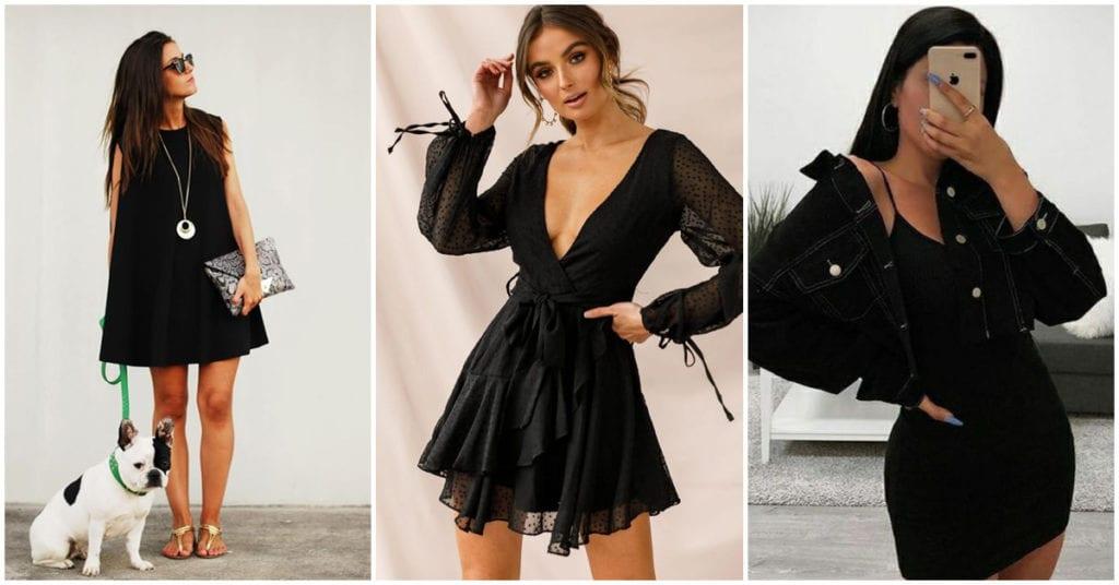 Cómo combinar tu little black dress de acuerdo a la ocasión