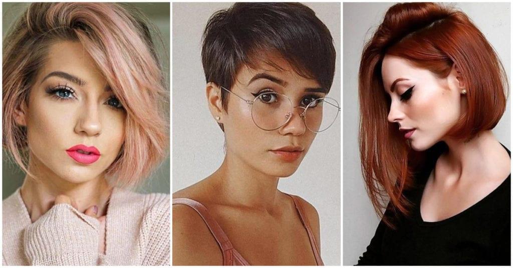 Cambios de look sexys con cabello corto