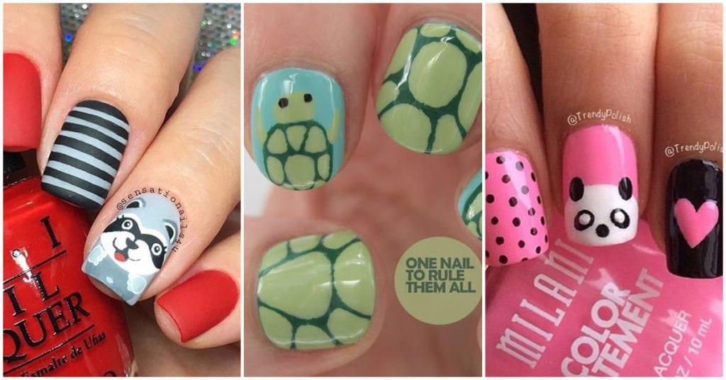 Diseños de uñas ideales para las amantes de los animalitos