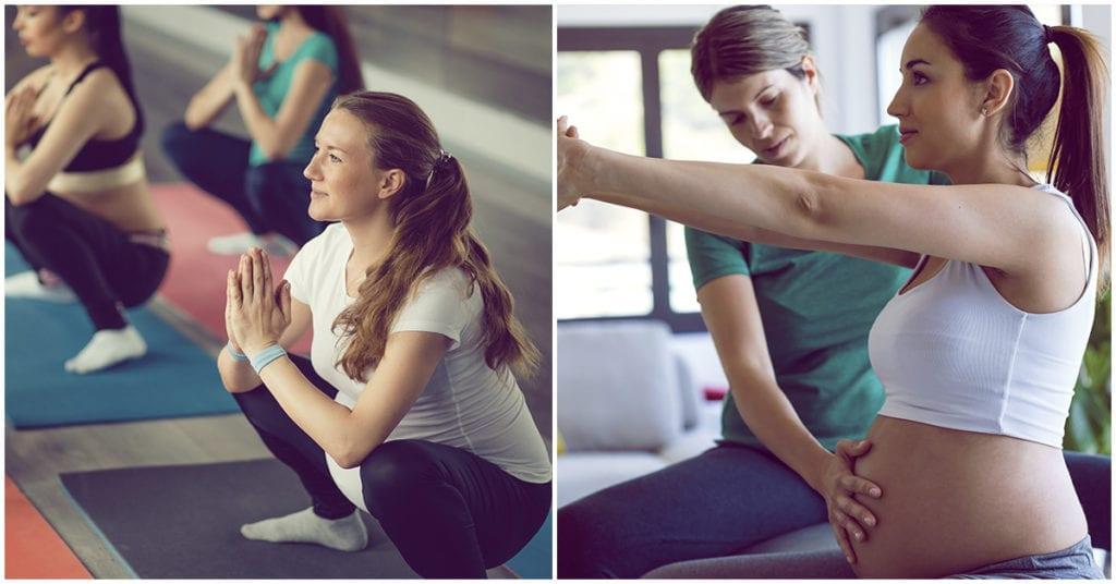 Yoga prenatal: Lo mejor que pude hacer para tener un parto más fácil.
