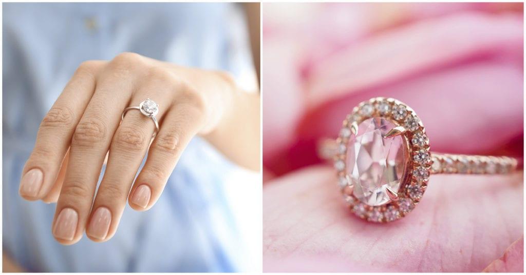Traer tu anillo de compromiso puesto no siempre es lo ideal ¡te cuento porque!