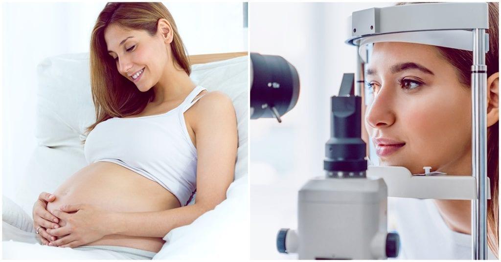 Importancia de la salud visual durante el embarazo