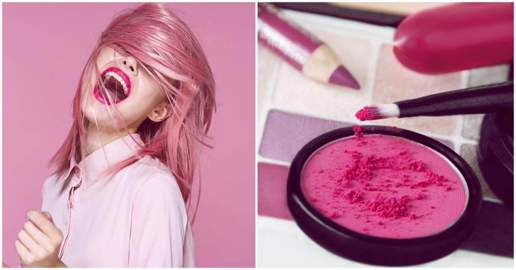 7 razones por las que amamos el color rosa ¡en cabello y maquillaje! super femeninos para toda ocasión