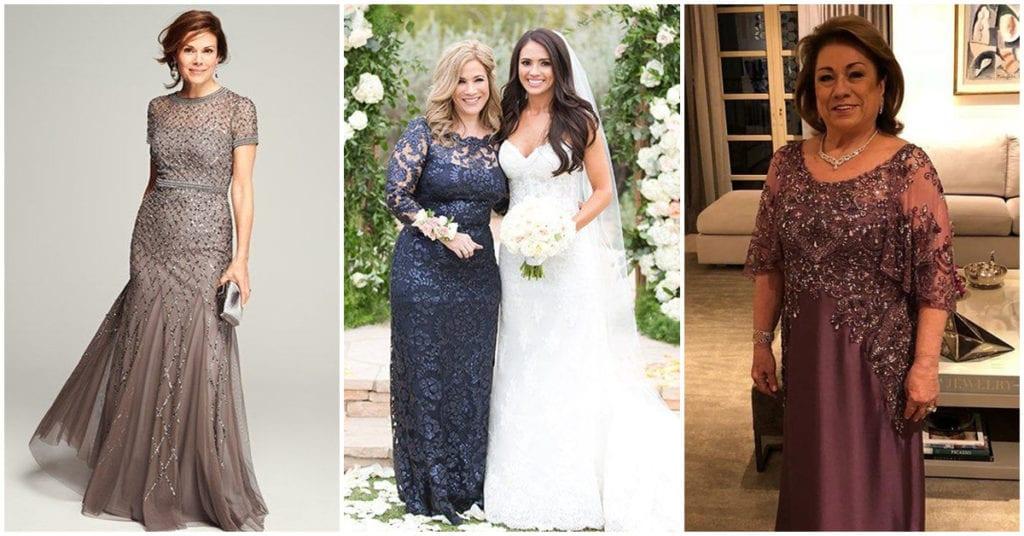 El outfit ideal para la mamá de la novia