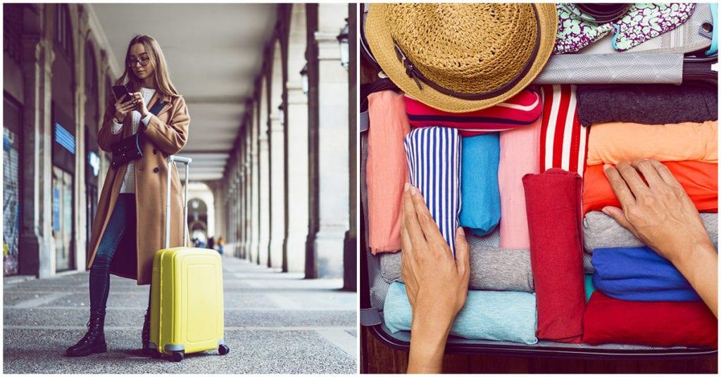 Cómo empacar sabiamente sin llevar la mitad del armario de más