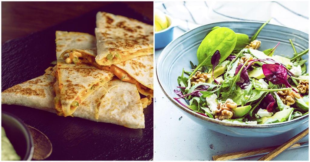 Cenitas con queso bajas en calorías ¡las amo!