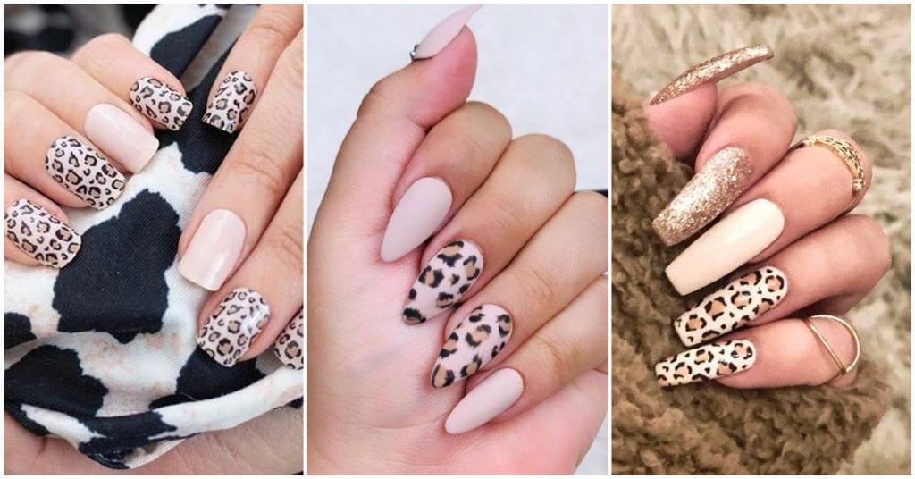 Diseños de uñas con animal print