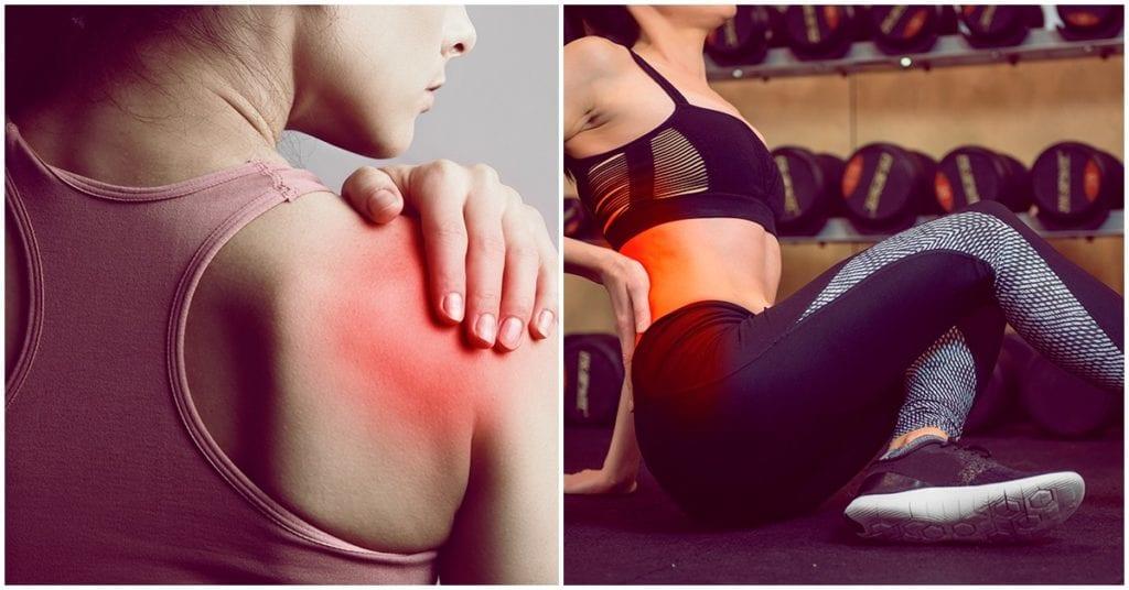 Hacer ejercicio cuanto te sientes adolorida, ¿sí o no?