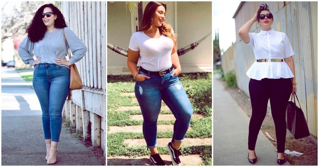 Tips para increíbles outfits para chicas curvy