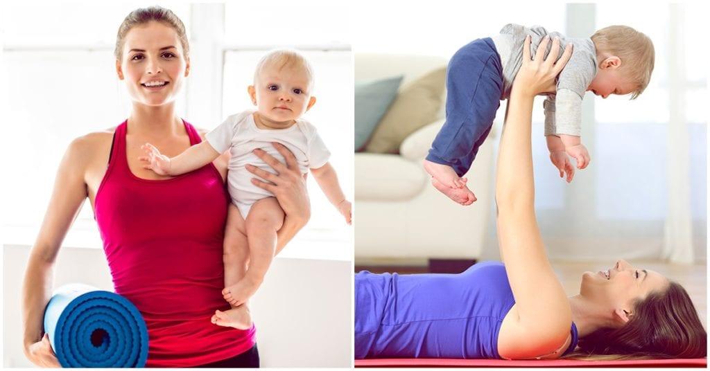 Con estos ejercicios evita que tu barriguita después del parto se quede contigo para siempre