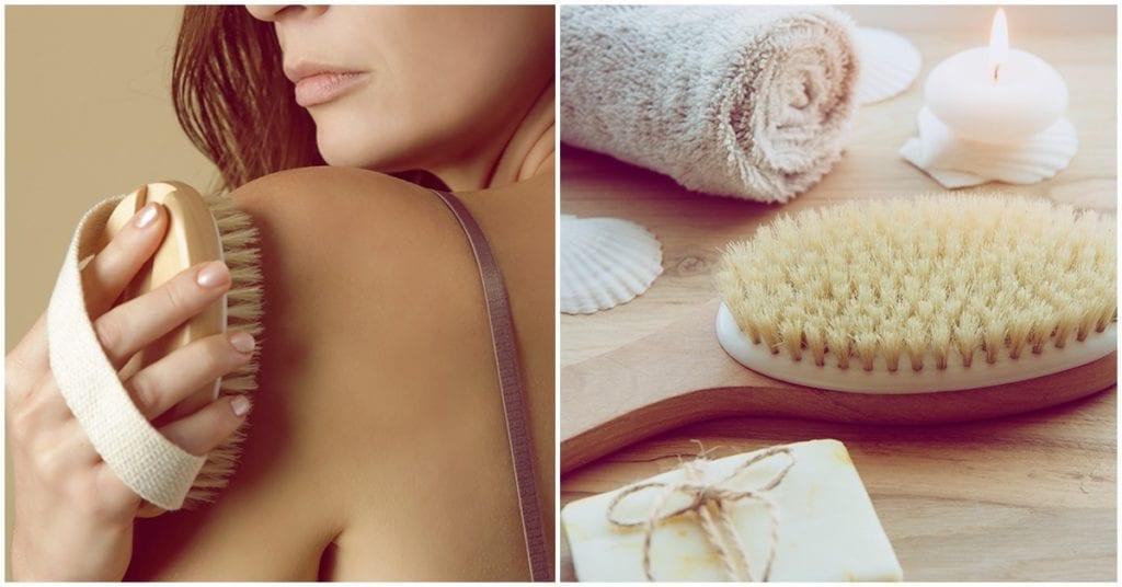 Beneficios de cepillar tu piel en seco