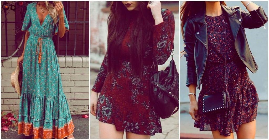 No cometas errores al llevar tus vestidos estilo bohemio