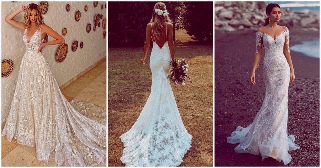 Qué vestido de novia te queda mejor según tu tipo de cuerpo