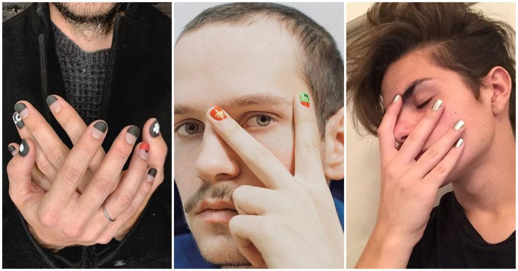 Cada vez más hombres usan esmalte de uñas