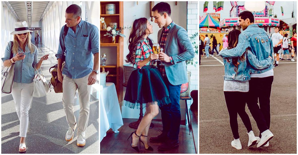 Outfits que puedes usar con tu pareja y ser el hit donde quiera que vayan