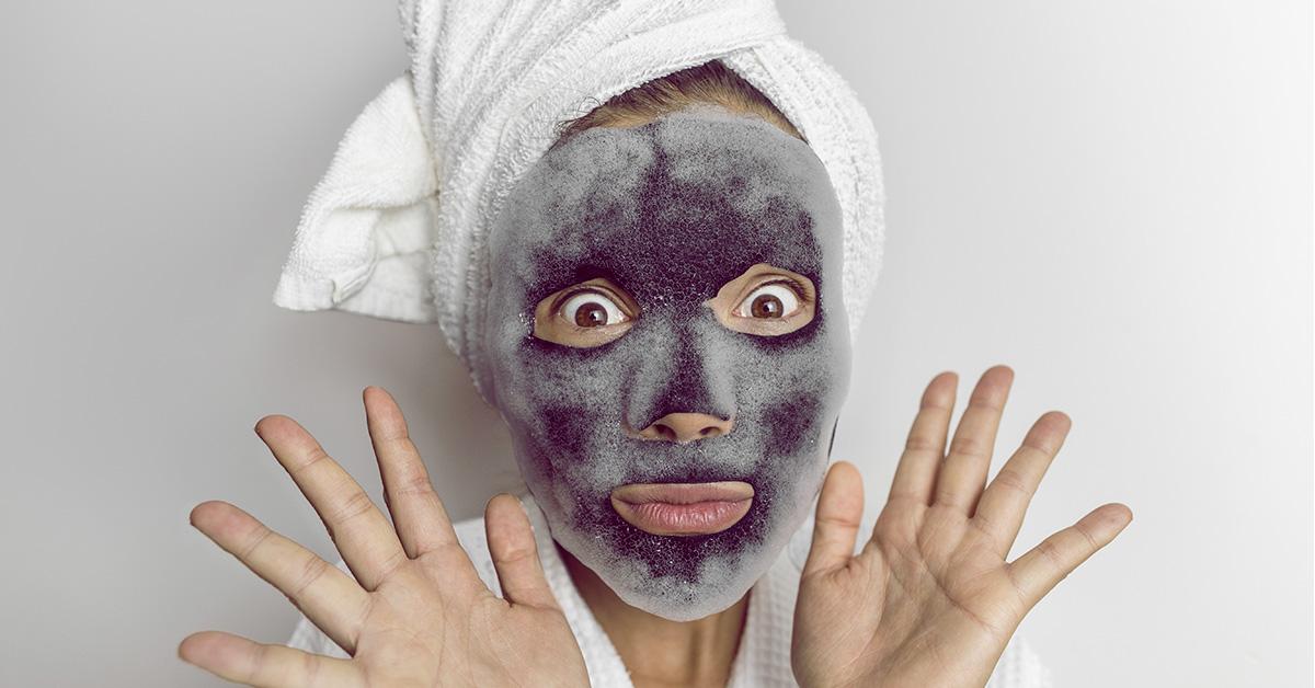 El secreto de una piel suave: mascarilla de burbujas