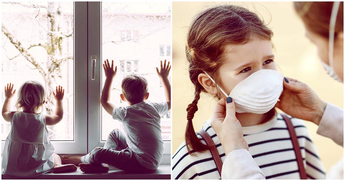 La cuarentena está afectando la salud mental de todos, pero principalmente de los niños