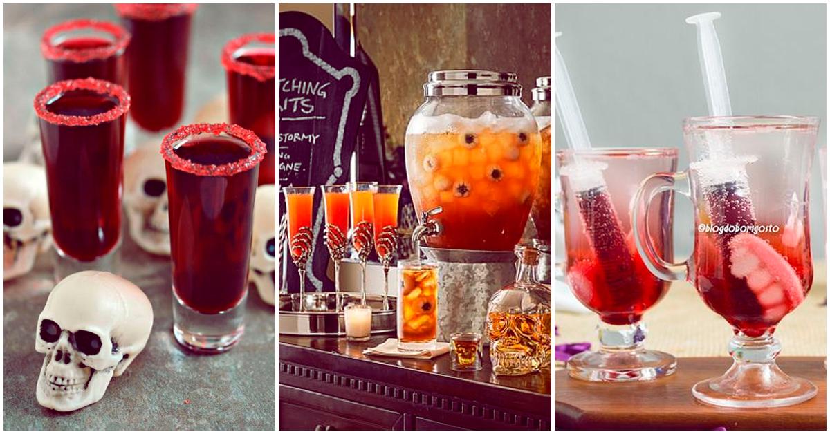 Bebidas que podrás disfrutar esta noche de brujas