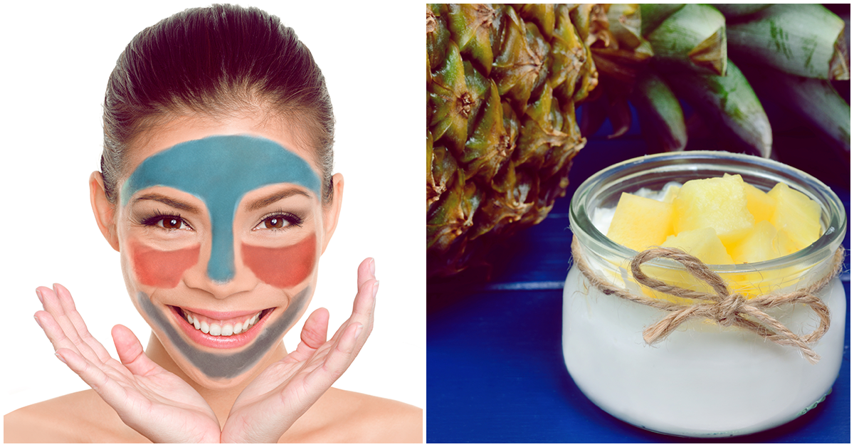 Esta mascarilla te ayuda a combatir el brillo de la piel