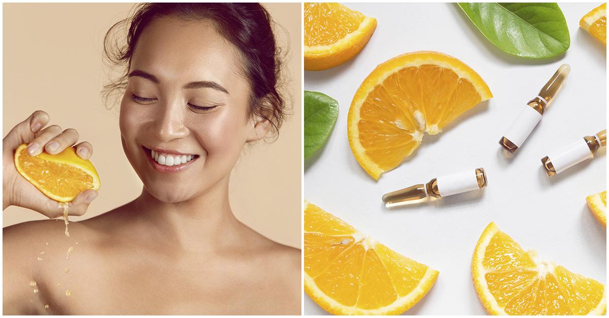 Productos de belleza con vitamina c ¿valen la pena?