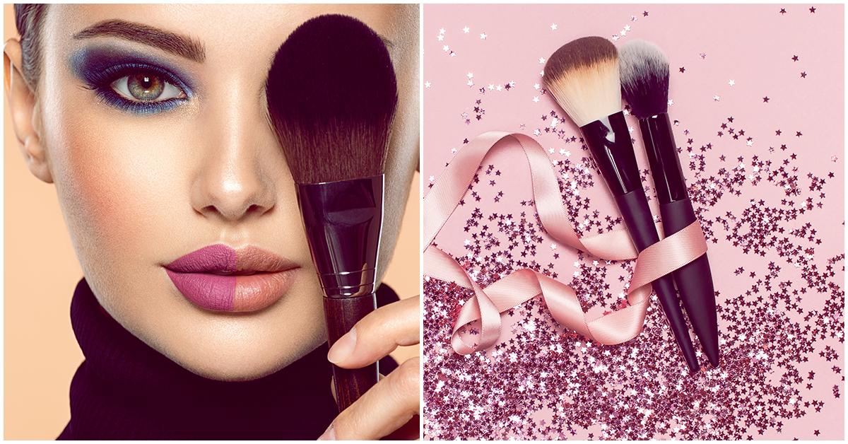 Cuál es la mejor brocha para aplicar la base de tu makeup